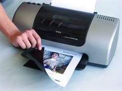 Magnetická fólie do inkoustových tiskáren, bílá lesklá FOTO