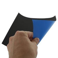 Magnetická fólie STANDARD, modrá matná (PVC)