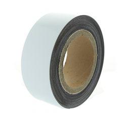 Magnetická páska 10 m, bílá lesklá