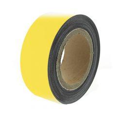 Magnetická páska 10 m, žlutá matná