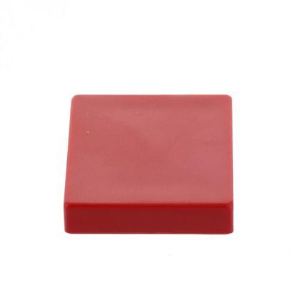 Kancelářský magnet, neodym, hranatý, červený