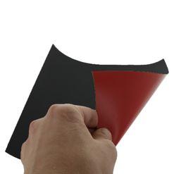 Magnetická fólie STANDARD, červená matná (PVC)