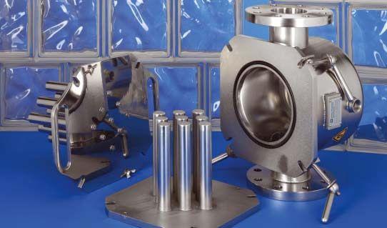 Magnetické filtry EHEDG, jednoduché